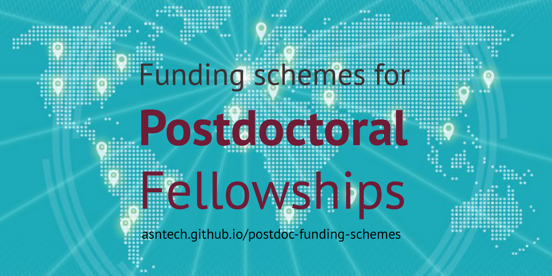 Funding schemes and opportunities for postdoctoral fellowships
