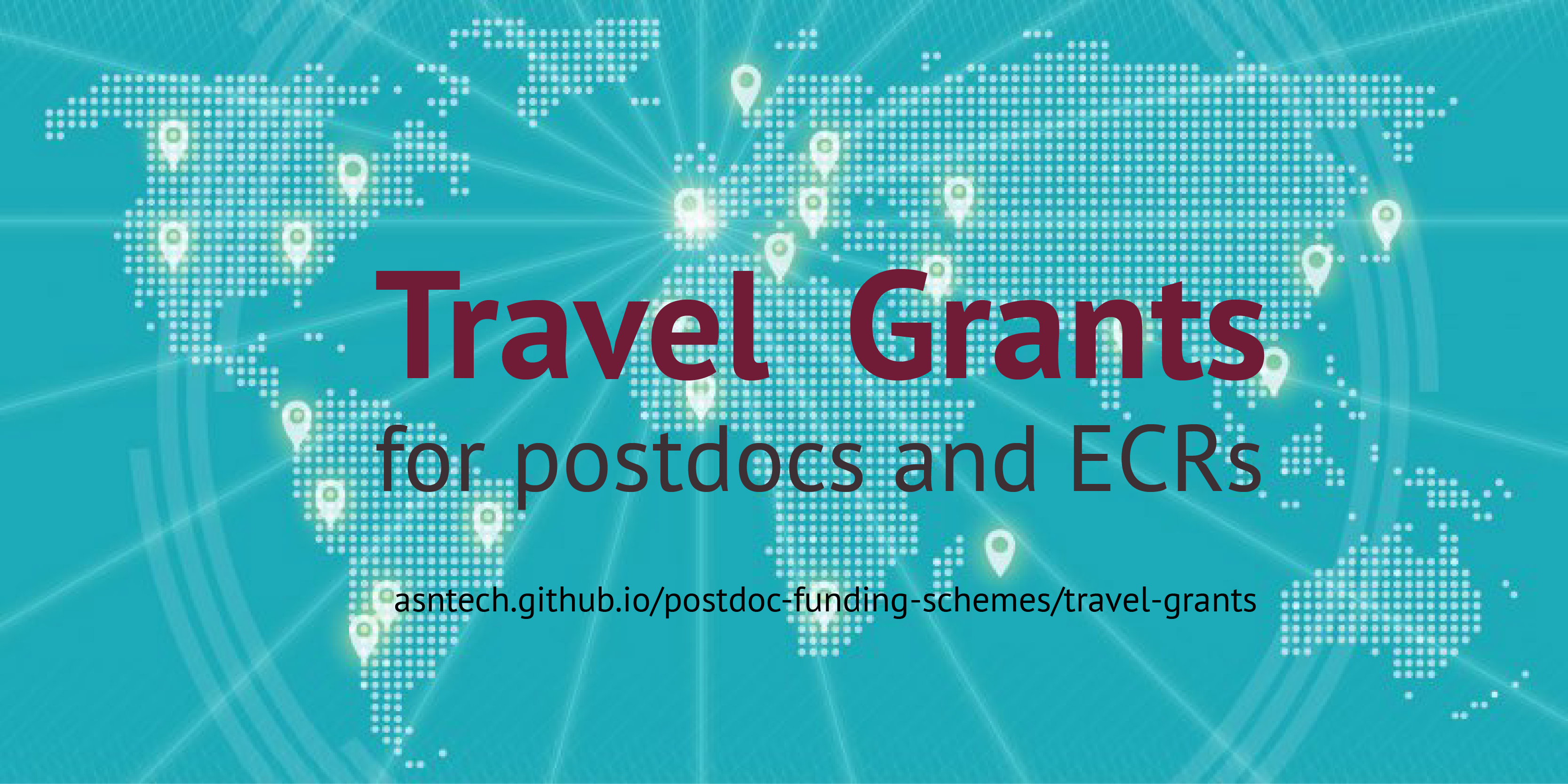 Travel funding opportunities for postdocs